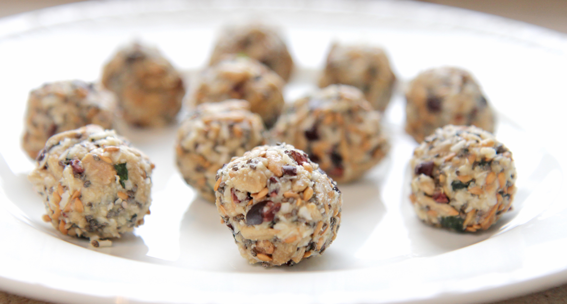 Chocolate-Mint Power Balls