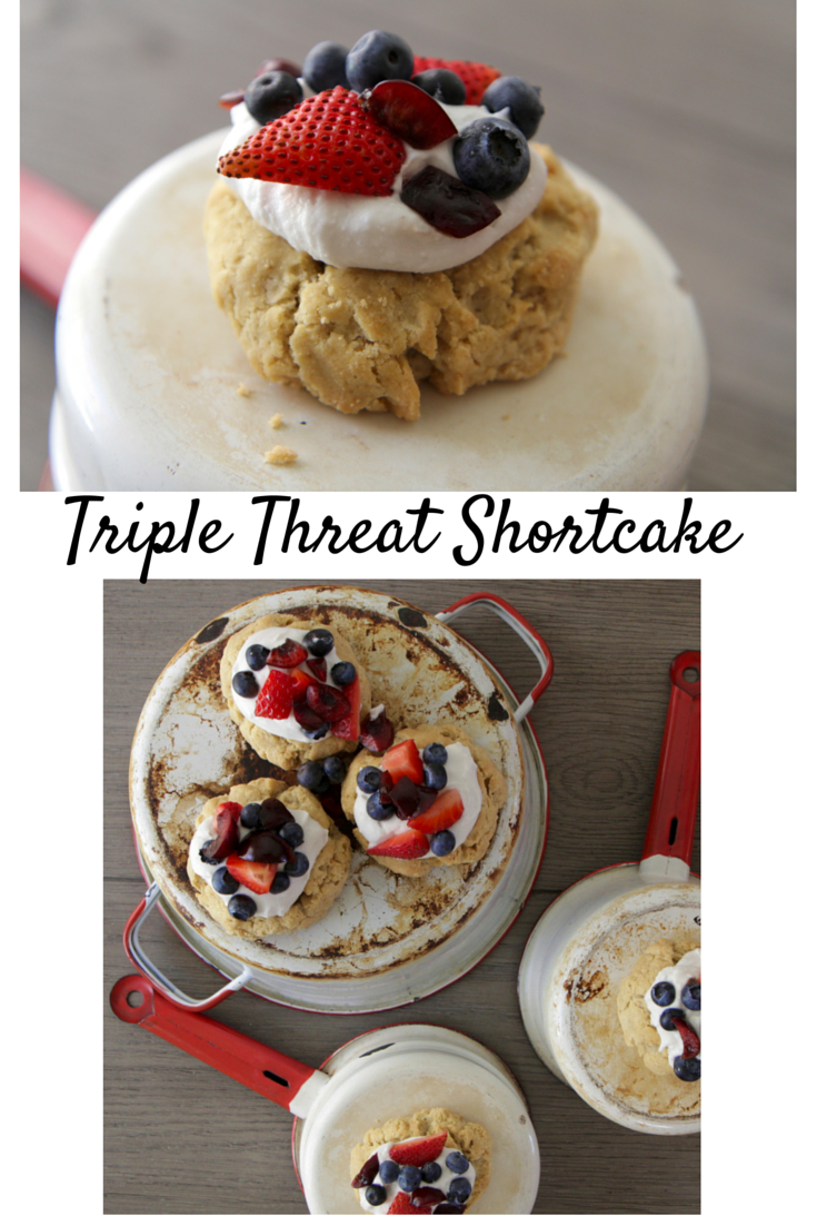 Triple Threat Shortcake