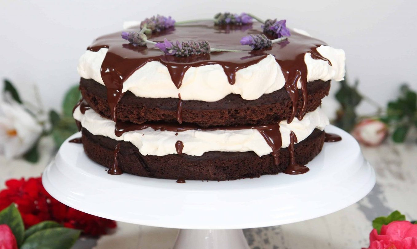 Dark Chocolate Espresso Cake